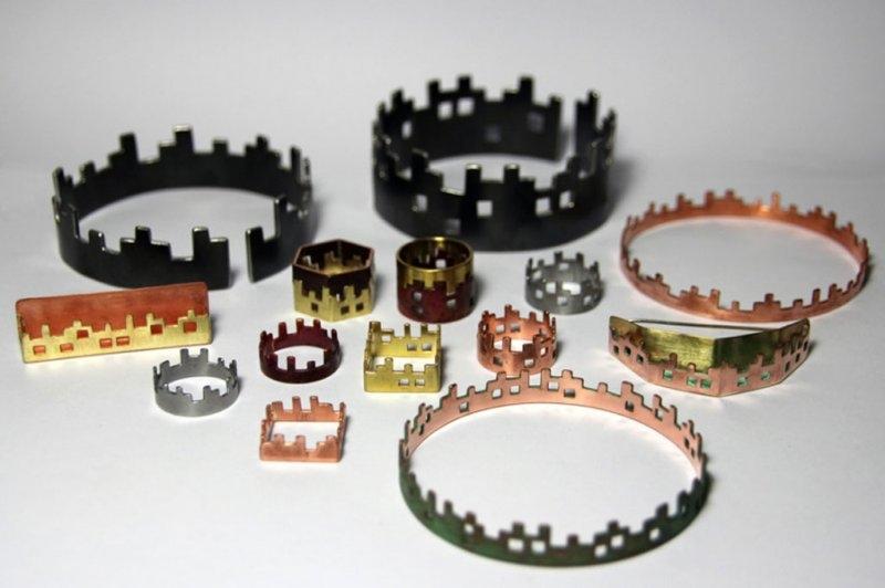 Skylines-cuivre-laiton-acier