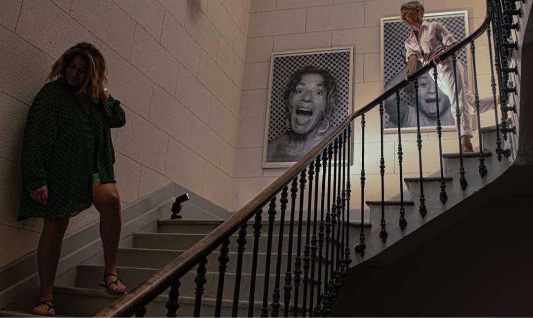 l'orque bleue laeti et jeanne escalier
